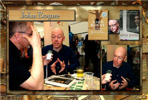 John Boyne with my cover